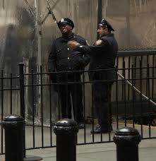 Ah, NYC cops always having a good time out there.