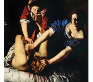 """Here she is, casually severing some dude's head while her friend looks on like """"OMG can't we do something NORMAL on Saturday nights anymore?"""""""
